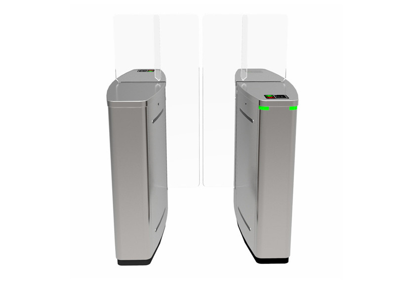 Face Recognition System Access Control Turnstiles Retractable Fast Transit Speed
