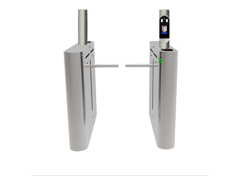 Entrance High definition Face recognition System 304 Stainless Steel Drop Arm Gate