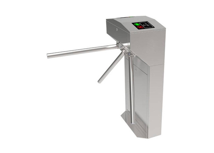 550mm Lane SS304 Access Control Vertical Tripod Turnstiles